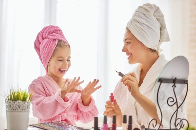 Manicura para niñas